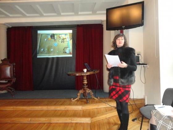 Latvijas Smilšu spēles terpijas biedrības seminārā