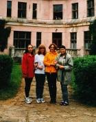 manas jaukās kursabiedrenes: Eva Straujā-Lejniece, Ilona Laizāne, Vita Apsīte un Brigita Heislere