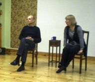 Iejūtīgais un pacietīgais EMDR skolotājs Olivers Šube un brīnšķīgā tulkotāja Ārija Servuta